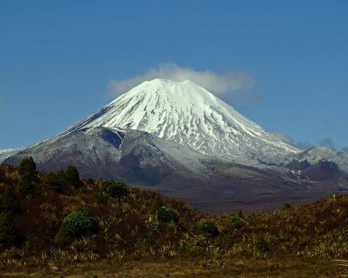 Volcanic Mount Ngauruhoe